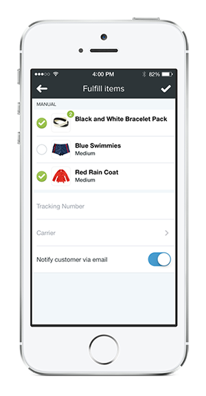 shopify how to get notification of new customers