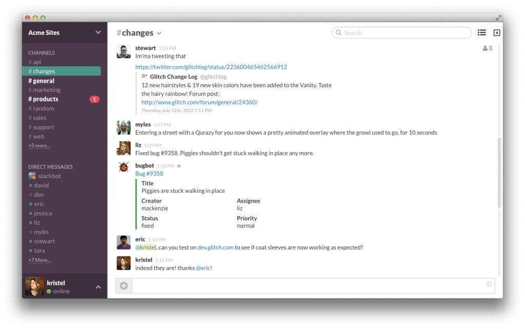 Slack desktop