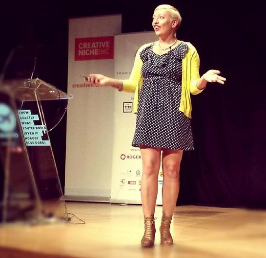 Casie Stewart at CM1 Conference