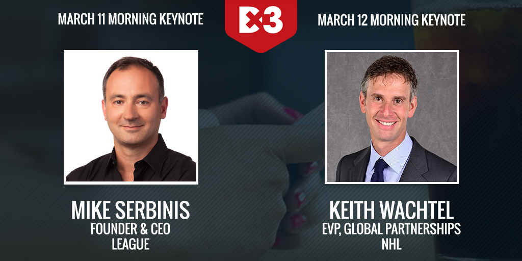 Dx3 2015 keynotes Mike Serbinis and Keith Wachtel