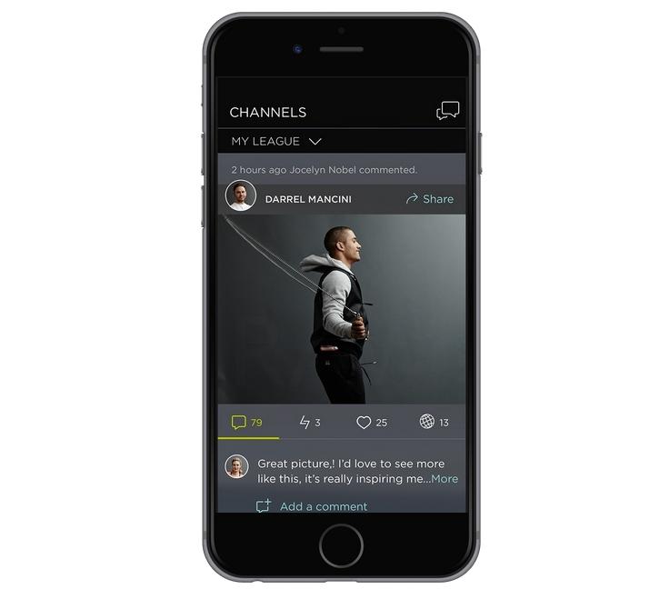 LEAGUE app