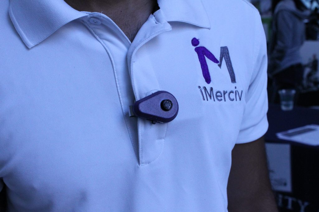 IMerciv's wearable assistive technology helps the blind, deaf-blind and partially-sighted improve orientation and mobility.