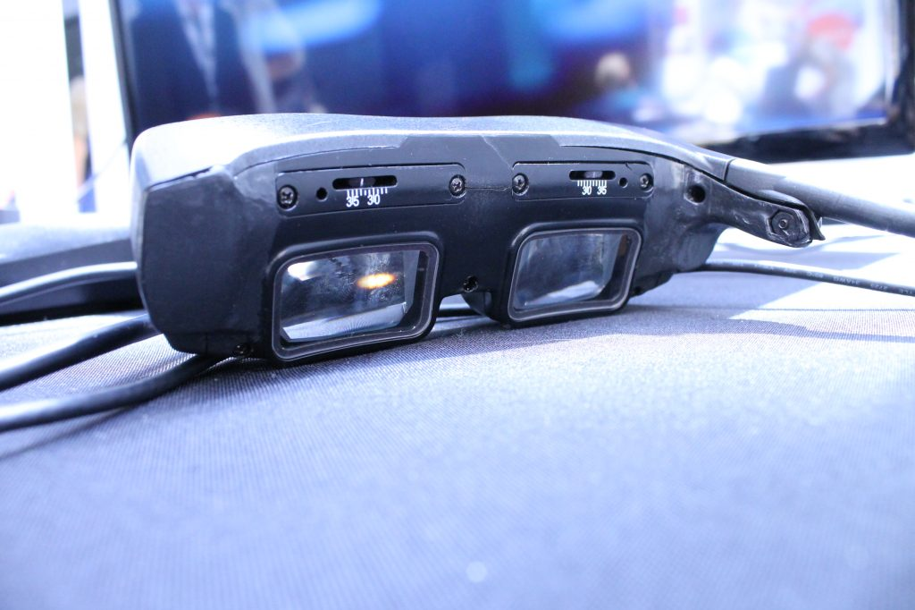 eSight Corporation has developed patented eyewear that enables the legally blind to see.