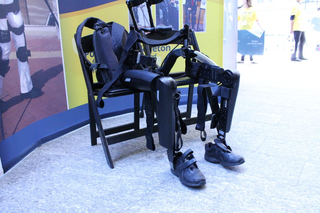 ReWalk Robotics designs, develops and commercializes exoskeleton devices to help people facing mobility challenges to stand and walk again.