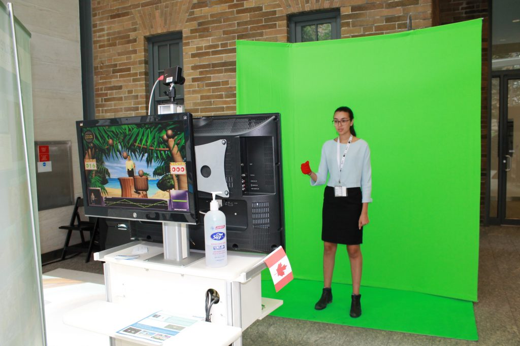 GestureTek provides gesture-controlled technology for immersive displays, signs, surfaces, and full body games.