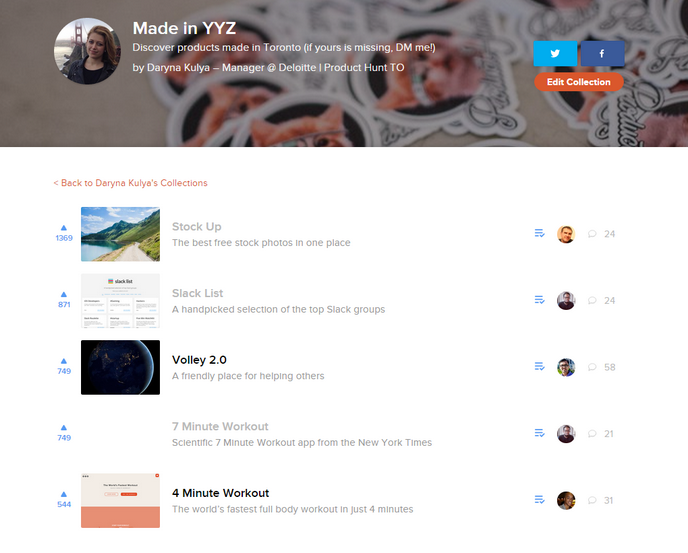 Product Hunt Made in YYZ
