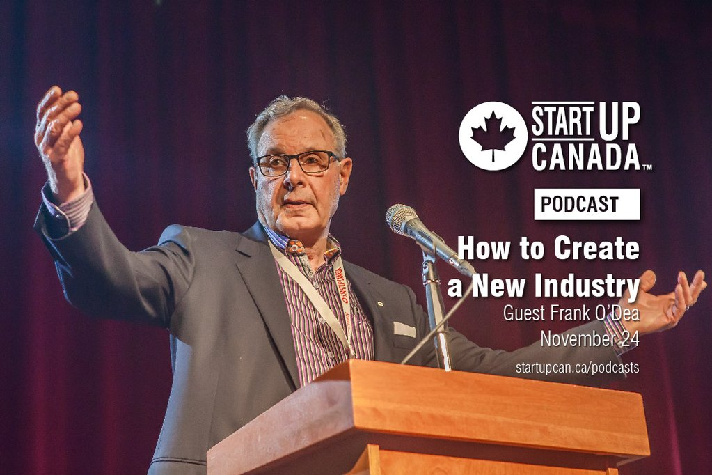Startup Canada Frank O'Dea