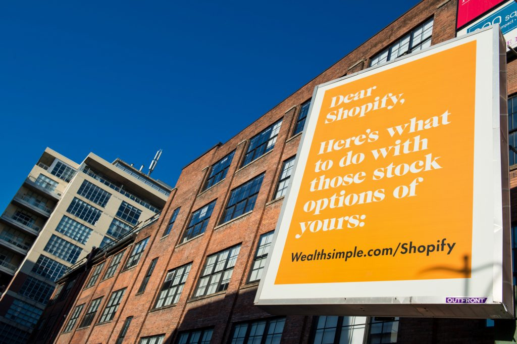 Wealthsimple Shopify