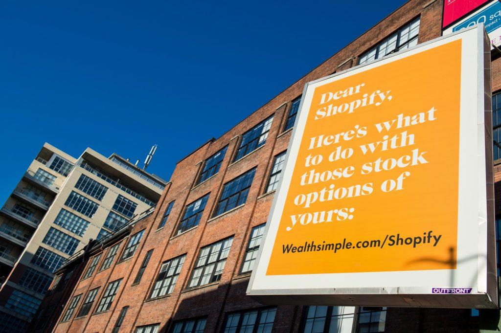 Wealthsimple Shopify