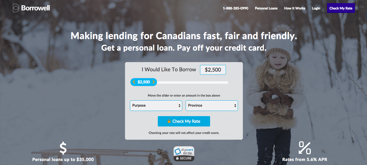 One Click Loan >> Cibc Partners With Borrowell To Provide One Click Online Lending