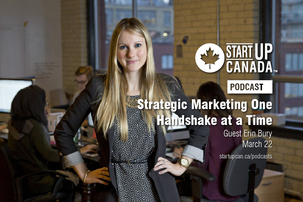 Startup Canada Podcast Erin Bury
