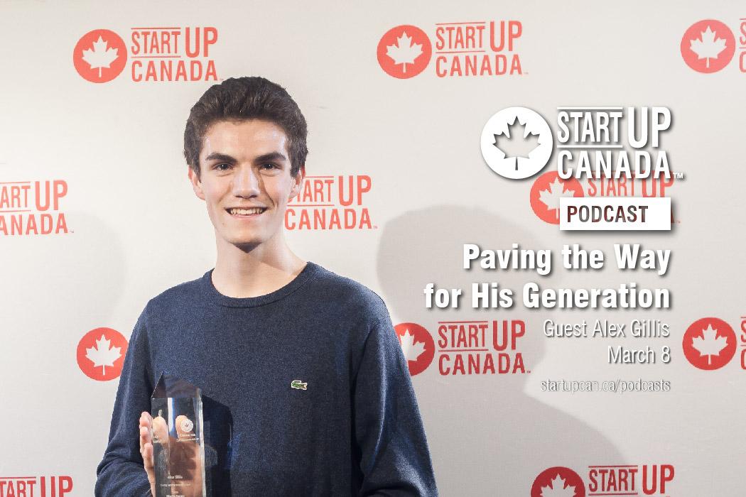 Startup Canada Alex Gillis