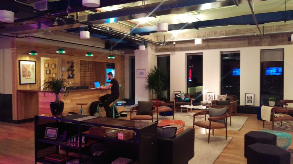WeWork Montreal Common Room