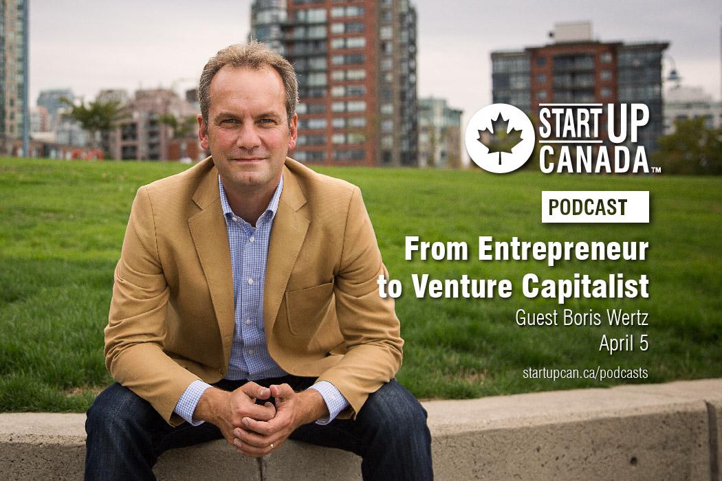 Startup Canada Podcast Boris Wertz