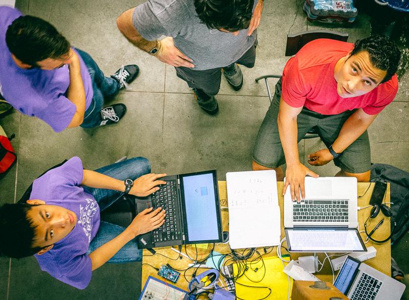 Startup Team Working