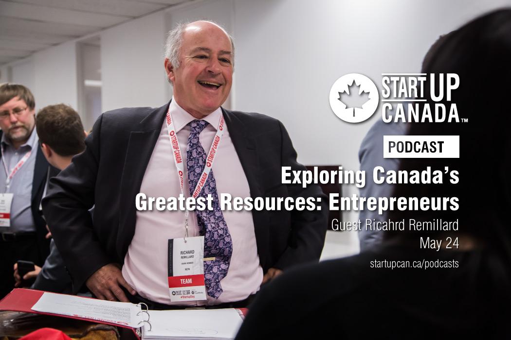 Startup Canada Richard Remillard