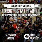 #StartupDrinks Toronto