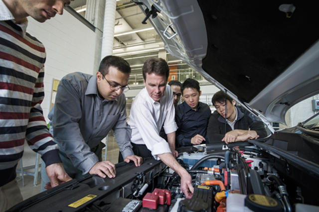 University Of Waterloo Opens Research Facility To Improve Electric Car