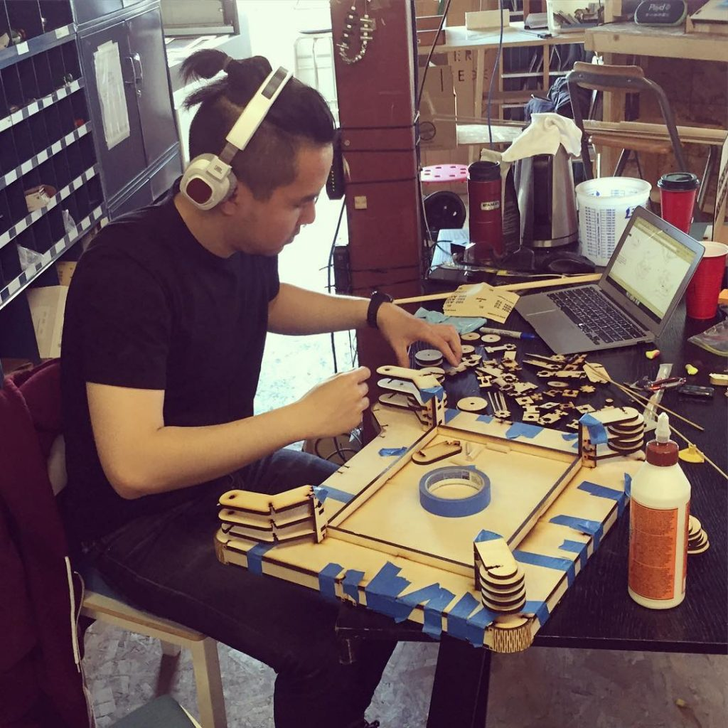 A Maker at MakerLabs
