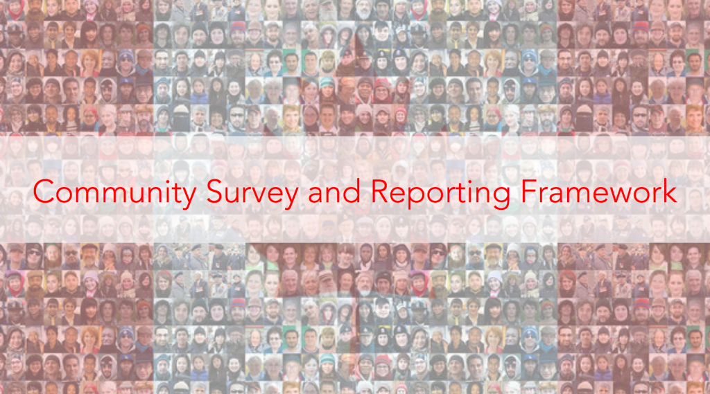 Community Survey and Reporting Framework