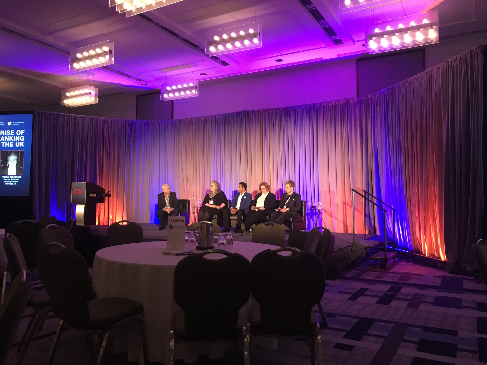 CIX2017 panel says AI's biggest impact on banks will be on