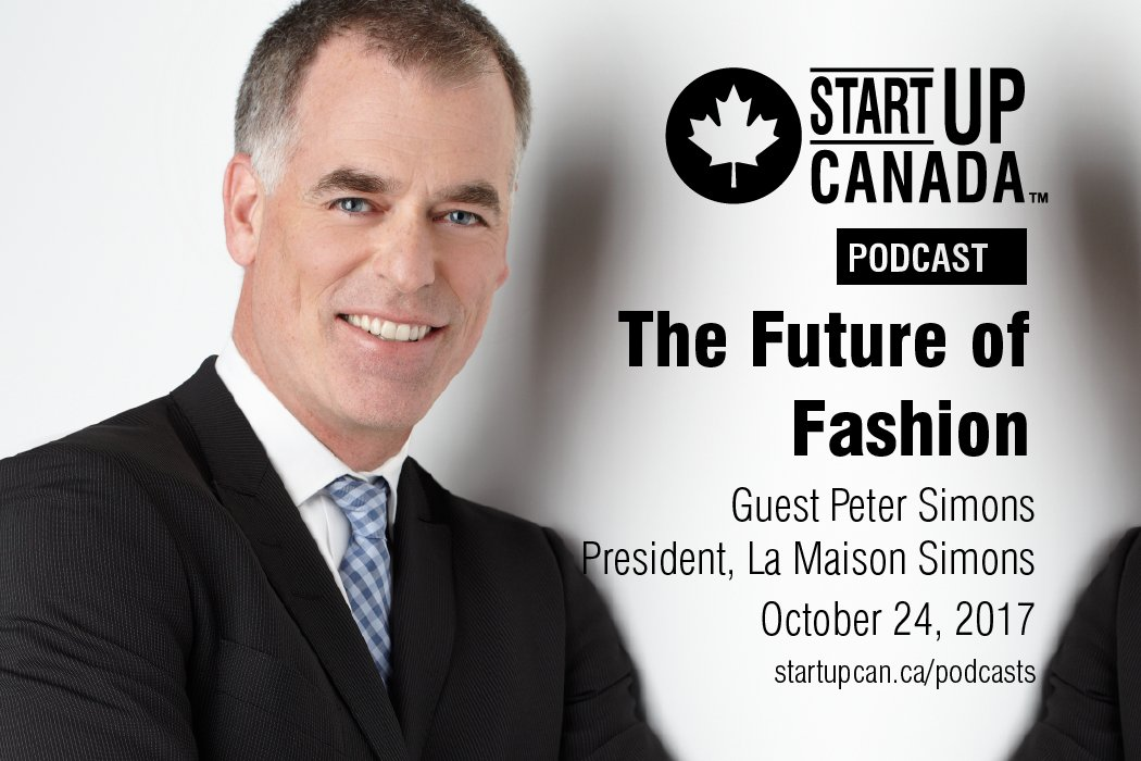 Startup Canada Podcast Peter Simons