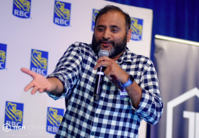 Harinder Takhar, CEO of Paytm, speaks at TechTO