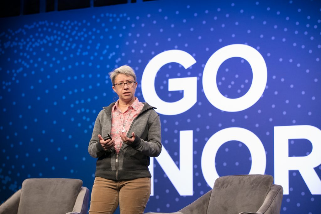 Francoise Beaufays Research Scientist at Google_ sheds light on how AI has revolutionized speech recognition at Go North 2017.