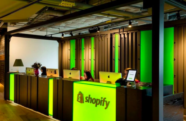 Shopify office space