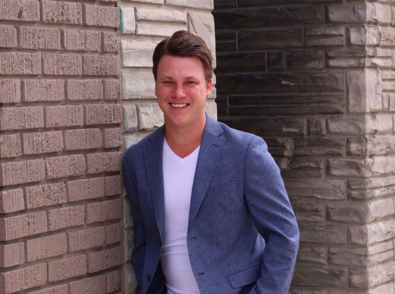 Diply co-founder and CEO Taylor Ablitt