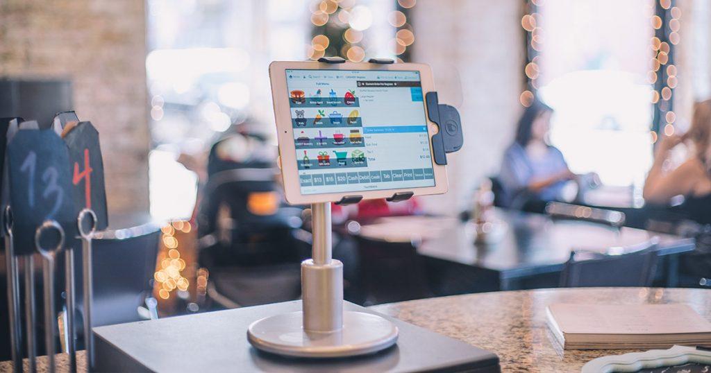 TouchBistro's POS system