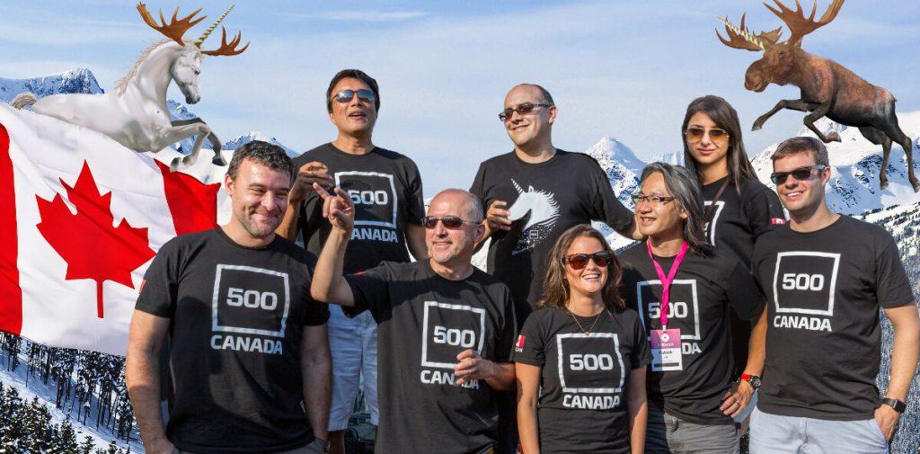 500 Canada team