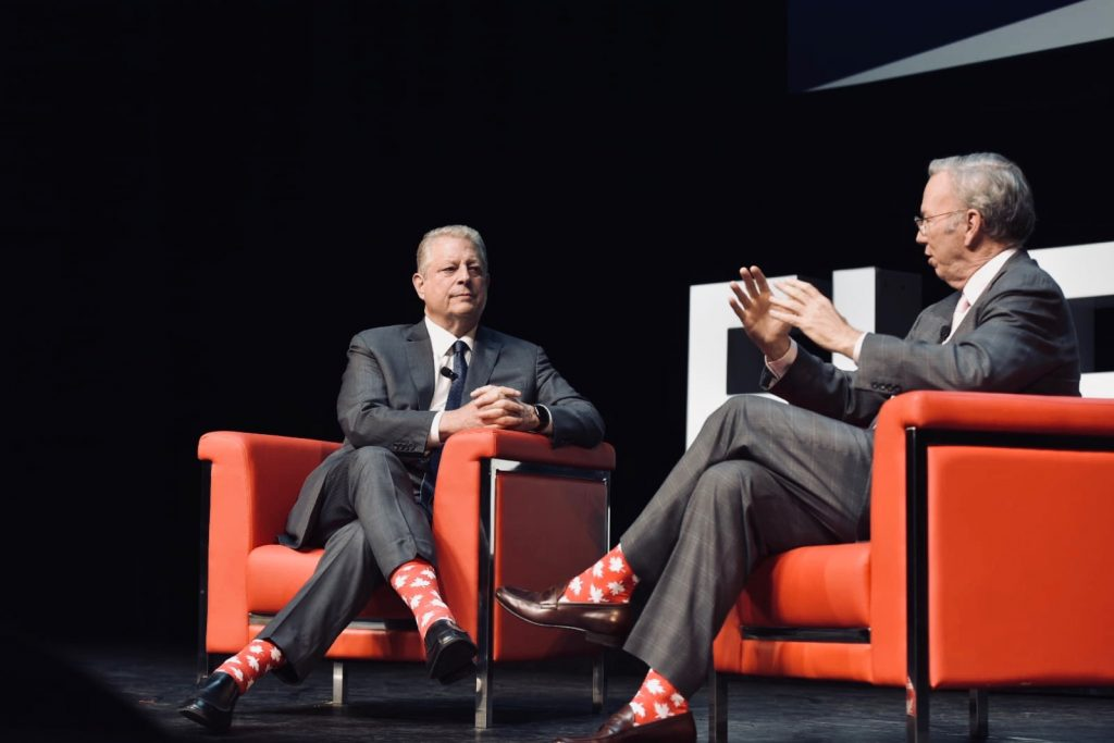 Al Gore and Eric Schmidt Elevate 2018