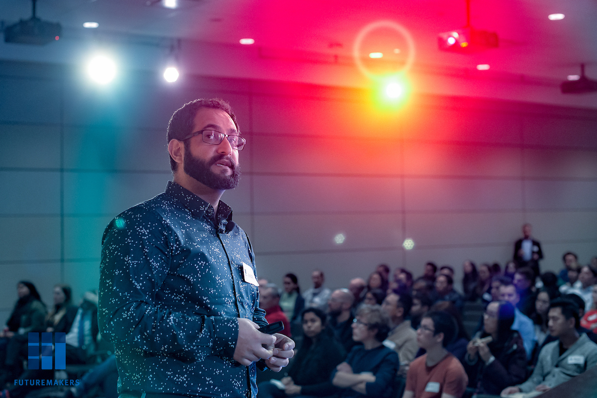 Amir Feizpour, senior data science manager at RBC.