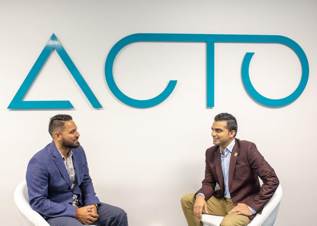 Acto founder