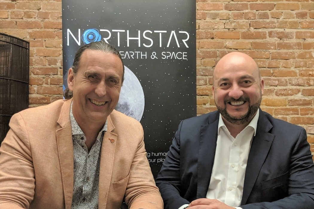NorthStar Earth - Space Inc--Luxembourg and NorthStar to coopera