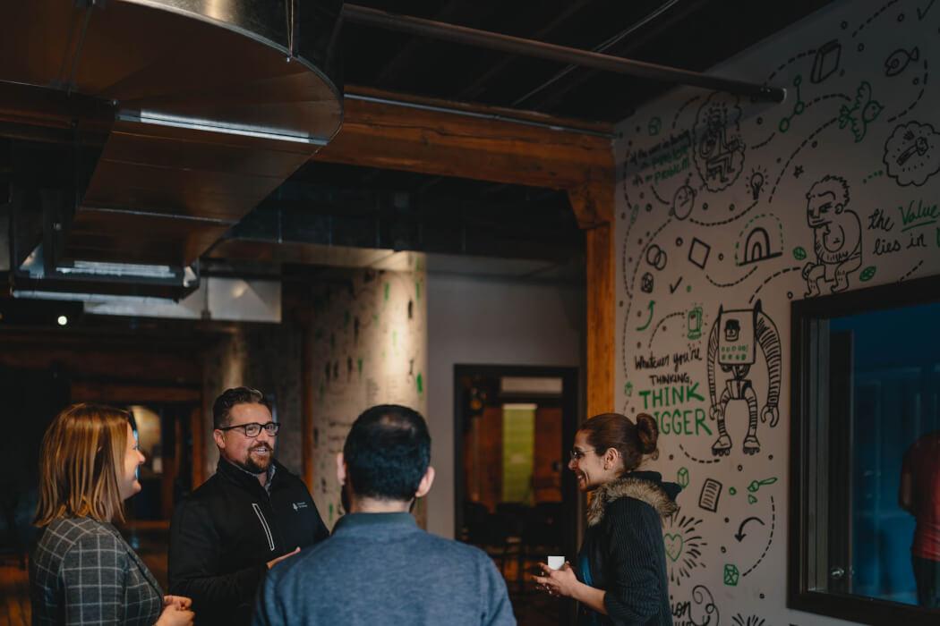 Startup Edmonton Microsoft for Startups event