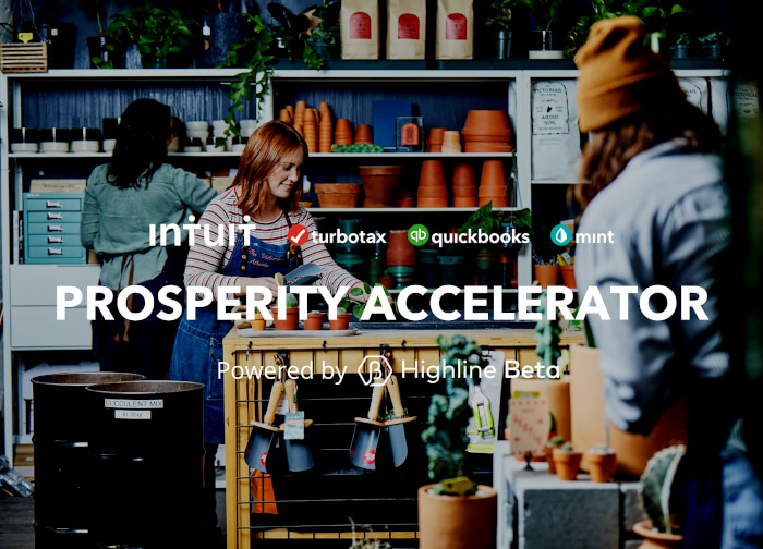 Intuit Prosperity Accelerator