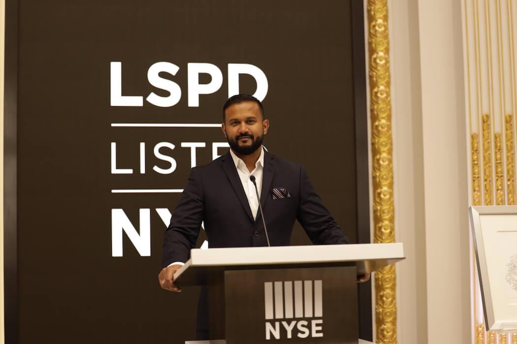 Lightspeed - NYSE Listing, September 11, 2020-1 (Dax Dasilva, Founder & CEO)