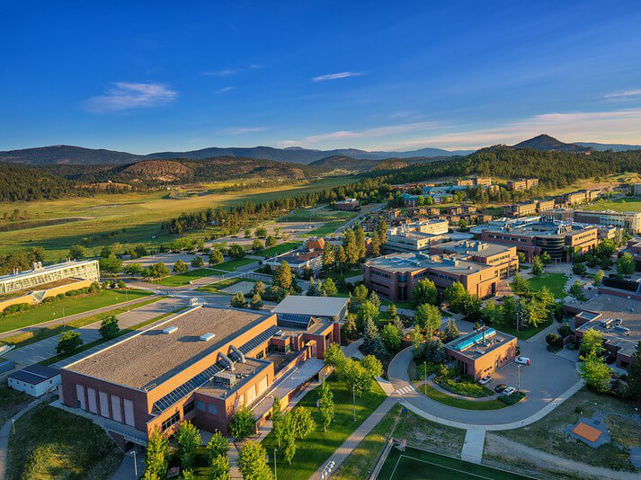 Image of University of British Columbia's Okanagan campus
