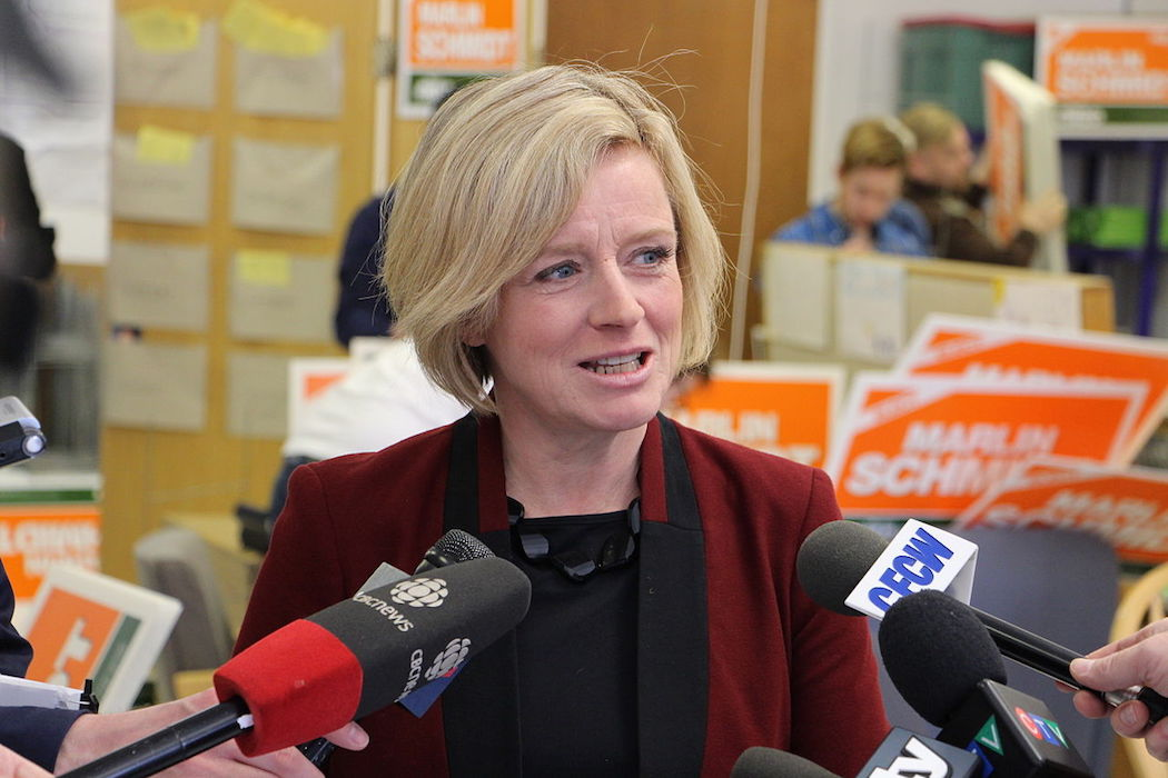Rachel Notley, Alberta