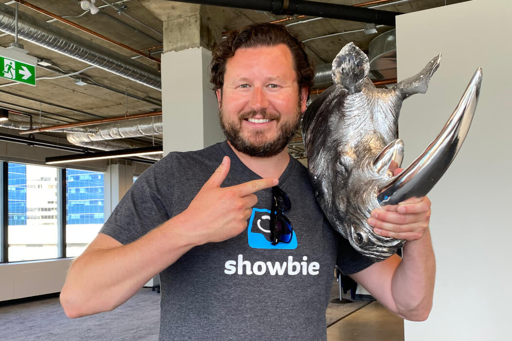 Showbie co-founder and CEO Colin Bramm