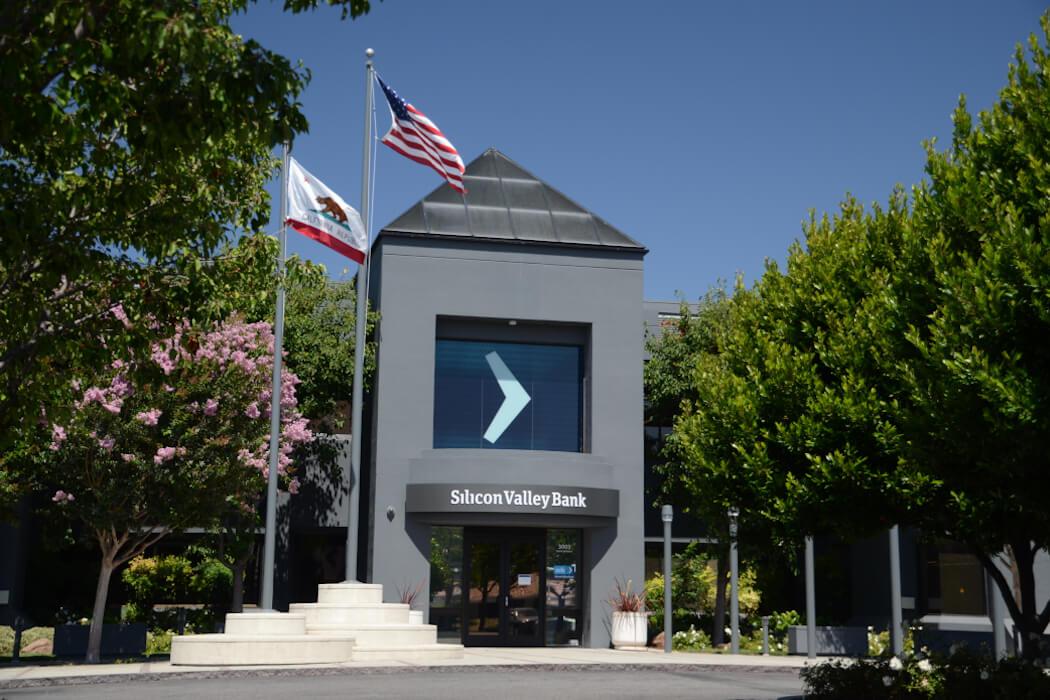 Santa Clara, Calif. HQ of Silicon Valley Bank