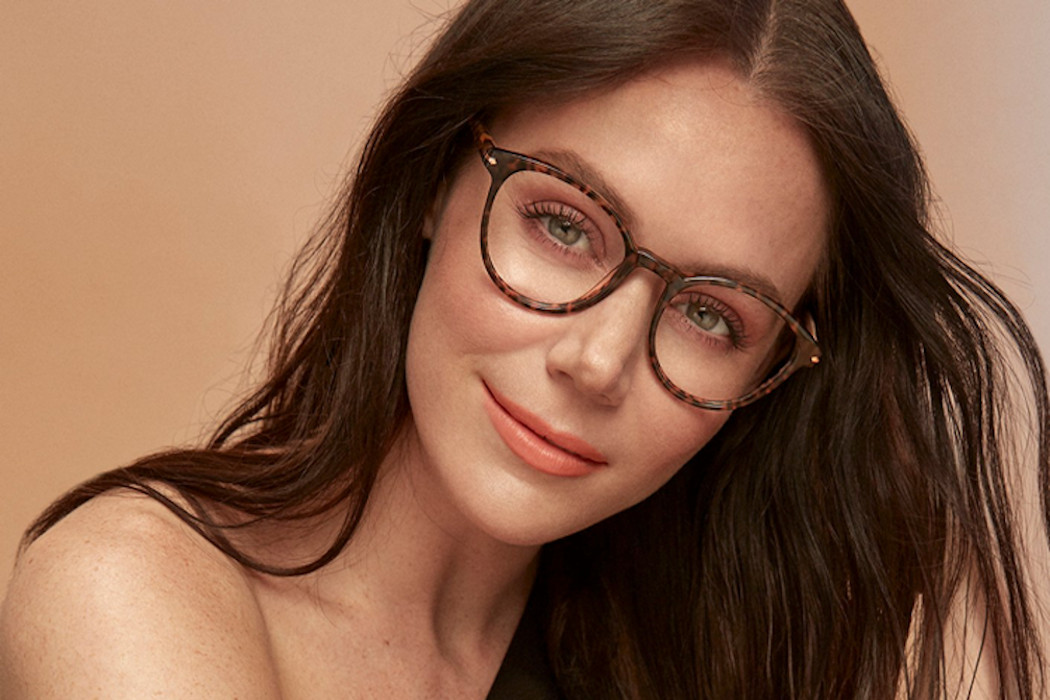 Tessa Virtue modelling BonLook glasses