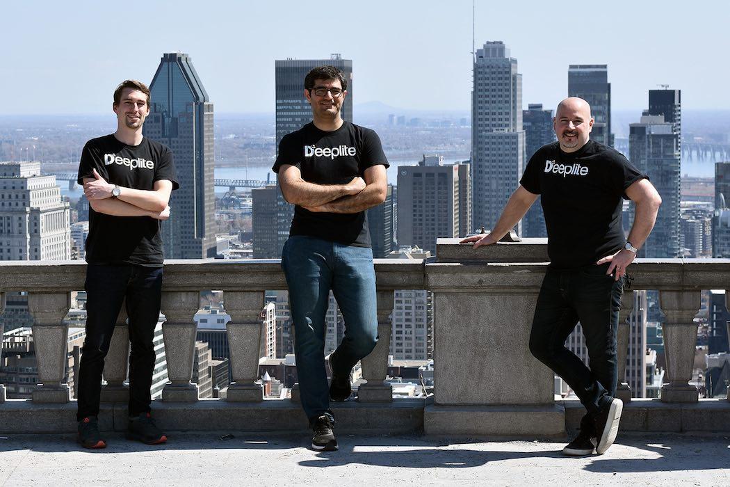 Deeplite co-founders