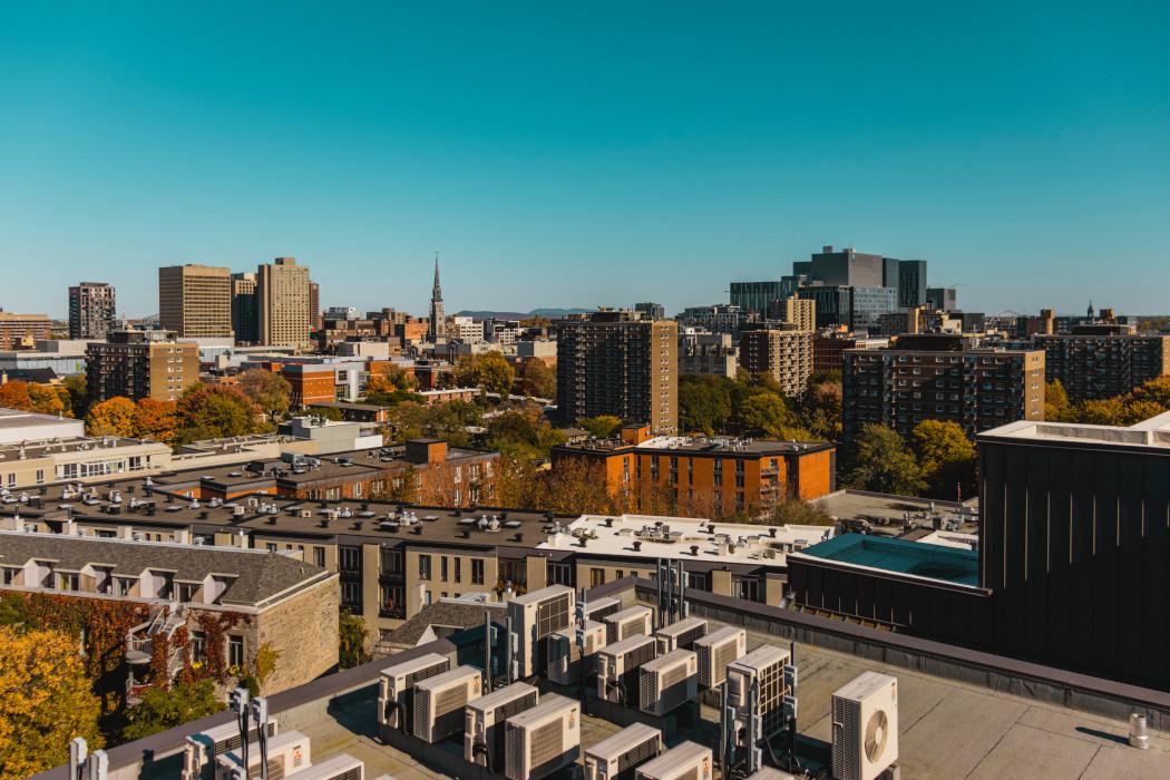 Montreal apartment buildings