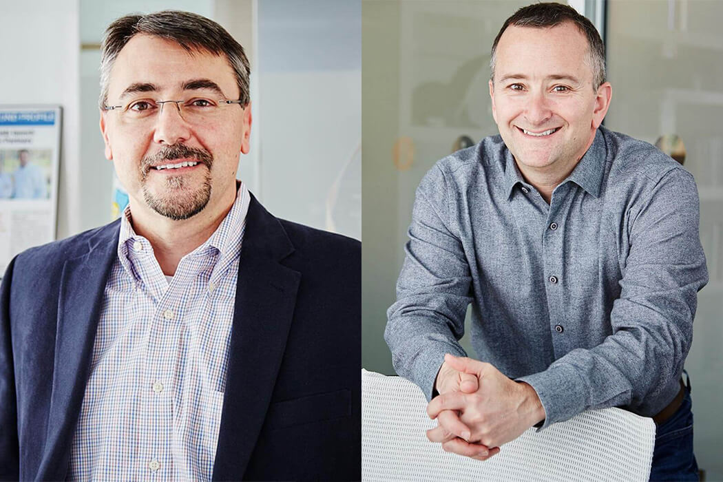 Portraits of Information Venture Partners' co-founders
