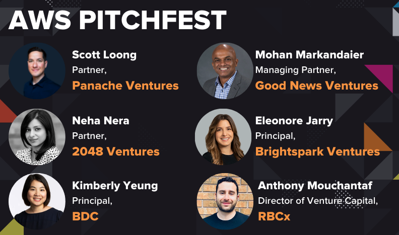 SAAS NORTH AWS PITCHFEST